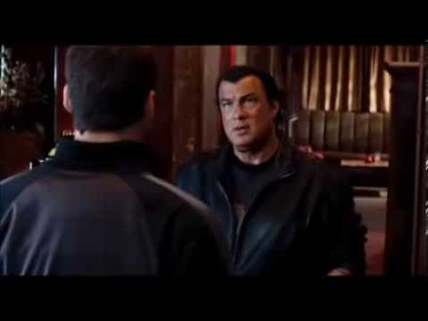 Steven Seagal : Fight scene Driven to Kill (Bar)