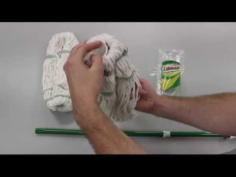 Libman Tornado Mop Refill Instructions Youtube