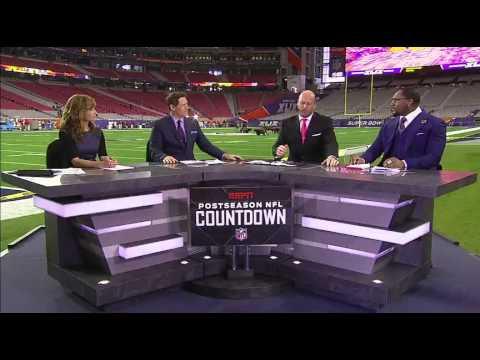 NFL Countdown Pays Tribute To The Life Of Stuart Scott - SportsCenter (02-01-2015)
