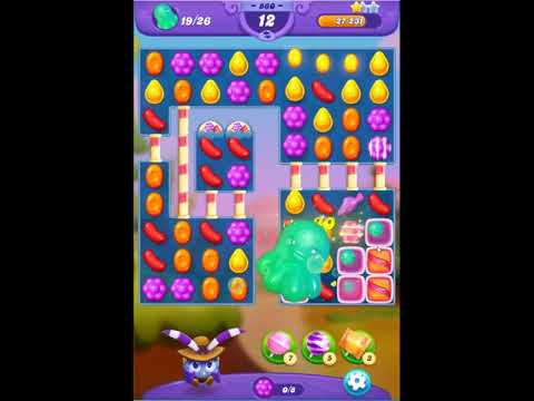 Candy Crush Friends Saga Level 860 - NO BOOSTERS 👩‍👧‍👦 | SKILLGAMING ✔️