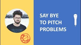 How to sing on pitch l solution for pitch problems l sing on scale like a pro
