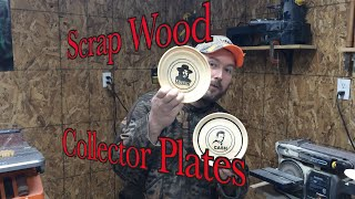 Simple scrap wood project (Making Collector style plates)