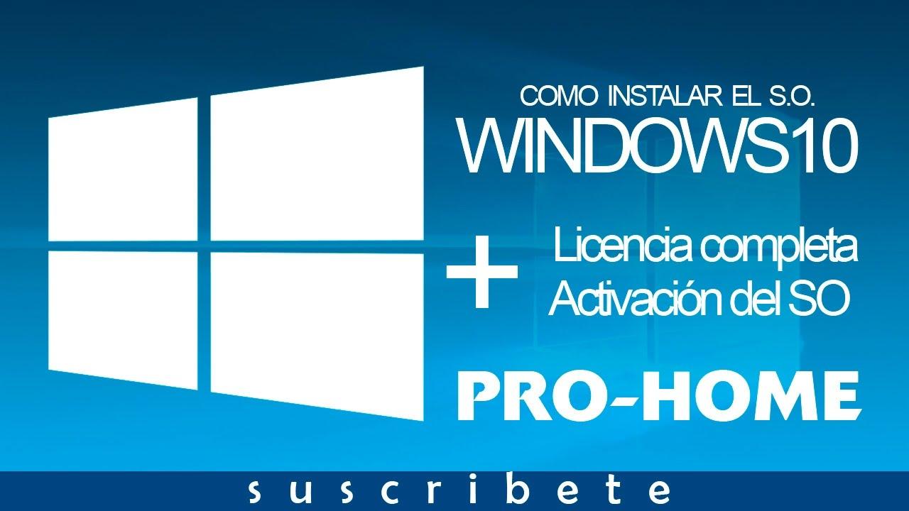 Windows 10 Pro Final Original Microsoft Vlsc: DESCARGA Y ACTIVACION - ViYoutube
