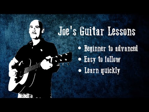 """""""Brothers In Arms"""" - Guitar tutorial Pt 2 - By Joe Murphy"""