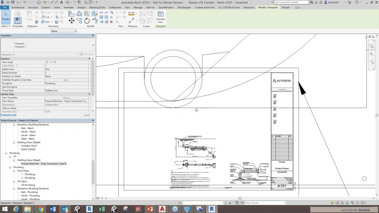 From AutoCAD to Revit: Importing and Scaling AutoCAD Details in Revit