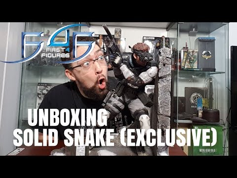 Solid Snake (Exclusive) Unboxing First 4 Figures