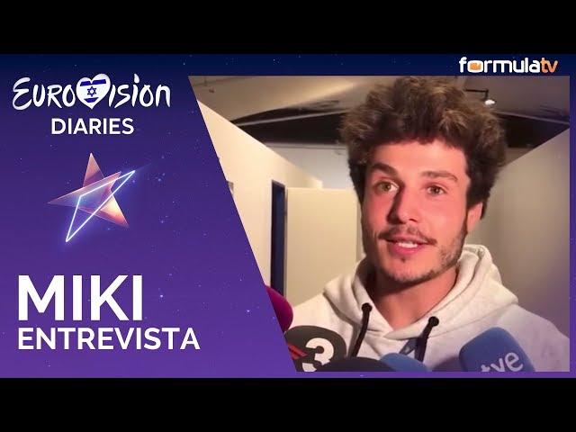 Eurovisión 2019: Primeras declaraciones de Miki Núñez tras la Final