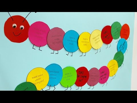 Easy craft: How to make a reading reward chart