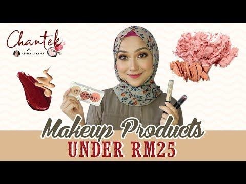Chantek: Produk Makeup Bawah RM25 bersama Aisha Liyana