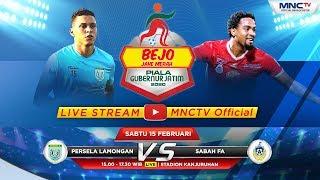 PERSELA LAMONGAN VS SABAH FA - Bejo Jahe Merah Piala Gubernur Jatim 2020