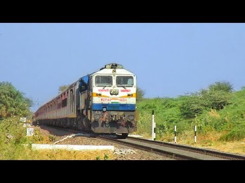 LHB Janmabhoomi Express | First Capture of 2019 | Indian Railways