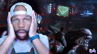 Alien Isolation Walkthrough Gameplay Part 4 - Please Don't Look Under This Table