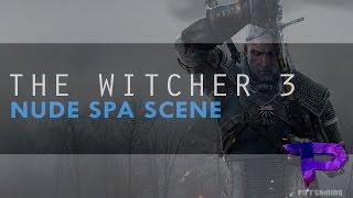 Nuda Spa Scene in Witcher 3 (Ciri Nude + Lots of nipples!)