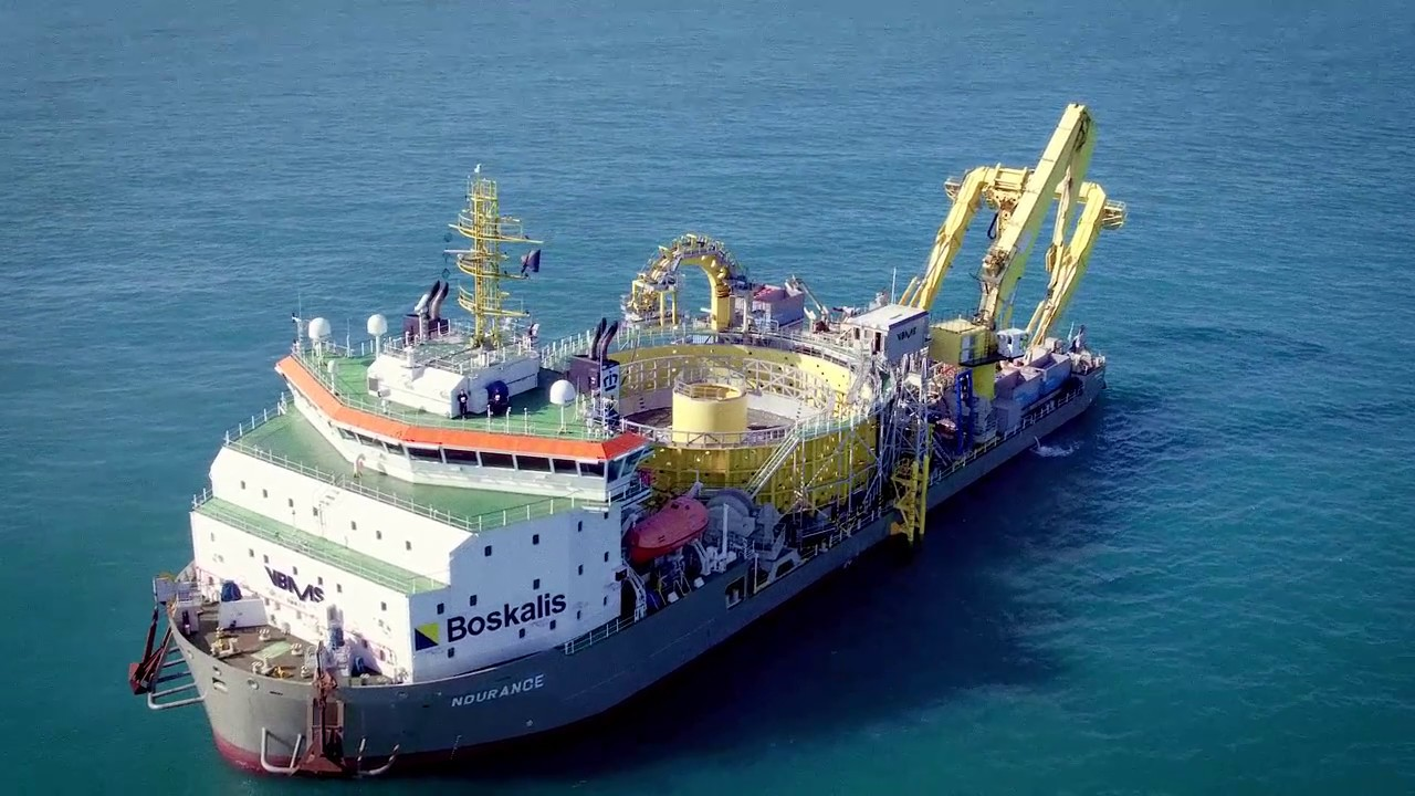 The Capabilities Of Our Cable Laying Vessels Youtube
