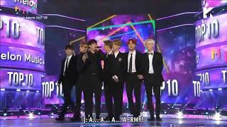 [VIETSUB] 171202 BTS - TOP10 Award @ Melon Music Awards 2017