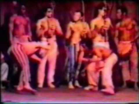 Capoeira Show in Fabrik (Hamburg, don't know which year it is)