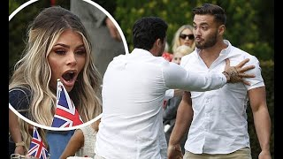 TOWIE SPOILER: Chloe Sims watches in horror as Dean Ralph SHOVES Jordan Wright after prank disaster