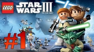 Lego Star Wars 3: The Clone Wars - Geonosian Arena - Part 1 (Lets Play)