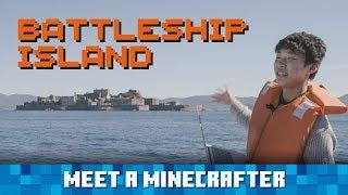 Meet a Minecrafter: Riku Kato visits Battleship Island, which he remade in Minecraft!