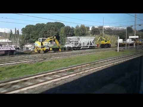 Trenitalia ETR 425067 Leonardo Express, Rome Fiumicino Internazionale - Roma Termini, 15/03/16
