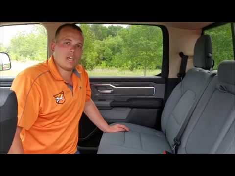 How To Remove Rear Headrests - 2019 RAM 1500