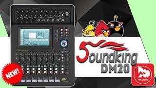 SOUNDKING DM20 - доступный цифровой микшерный пульт