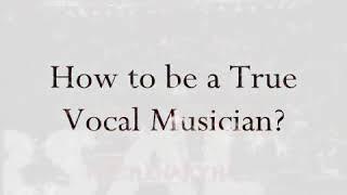How to be a true vocal musician Lesson 3 - Regine Velasquez HQ.