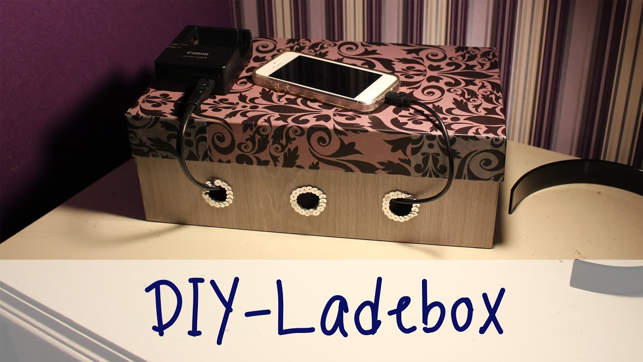 julia 39 s tillishop diy 39 s ladebox f r handy und co youtube. Black Bedroom Furniture Sets. Home Design Ideas