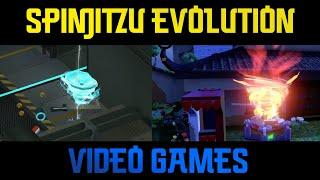 Ninjago - Spinjitzu Evolution in Video Games (2011-2020)