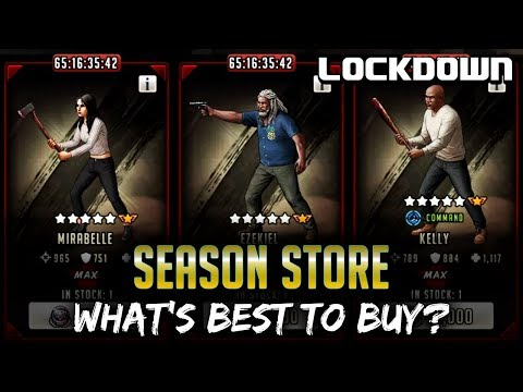 TWD RTS: Season Store, What's Best to Buy? - Season 1 - The Walking Dead: Road to Survival