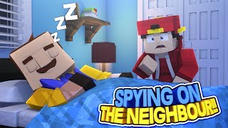 Minecraft Adventure - ROPO SETS UP CAMERAS IN THE NEIGHBOURS BEDROOM!!