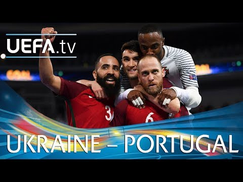 Futsal EURO highlights: Ukraine v Portugal