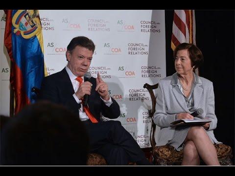 Conversatorio en el Council on Foreign Realtions y Americas Society