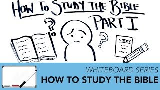 How To Study Your Bible PART 1 | Whiteboard Series - Impact Video Ministries