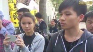 【2016-01-07 聲討陳志興】到培僑中學聲討陳志興 培