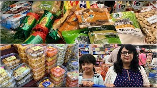 Indian Monthly Grocery Haul ( Hindi) | Indian (NRI) Grocery Shopping | Simple Living Wise Thinking