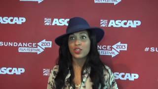 Melanie Fiona - ASCAP Music Cafe - 2013 Sundance Film Festival