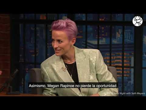 Megan Rapinoe, crack dentro y fuera de la cancha