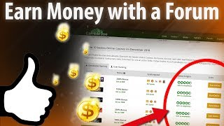 How to monetize a forum? earn money with forum is easy. in this video you see the top 5 ways for making (online english). ...