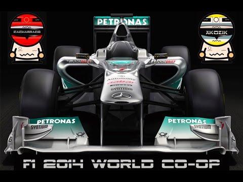 F1 2014 #1 Melbourne (Australia) | Coop Career Cacharraco Vs. xKozik