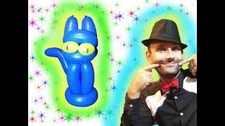 Кот из шариков шдм (простой) ★ cat make of the balloons