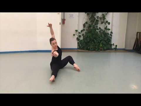 Floor Work Demonstration - Martha Graham Technique Audition 2017