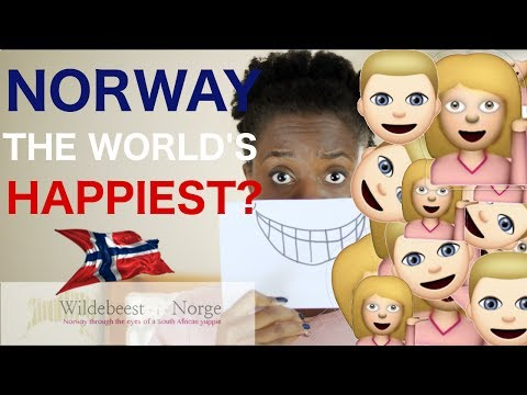 Are Norwegians the world's happiest people?