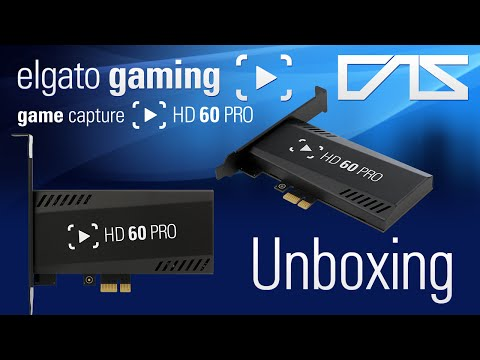 Elgato HD60 Pro Unboxing & First Look! (PCIe Capture Card)