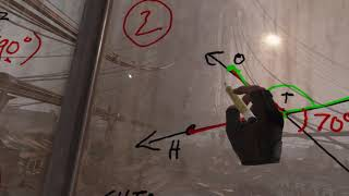 Teacher Delivers Remote Virtual Reality Math Lesson on Angles using Half Life: Alyx