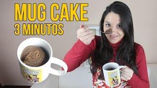 Cómo hacer un MUG CAKE en 3 minutos - Experimentando en la Cocina