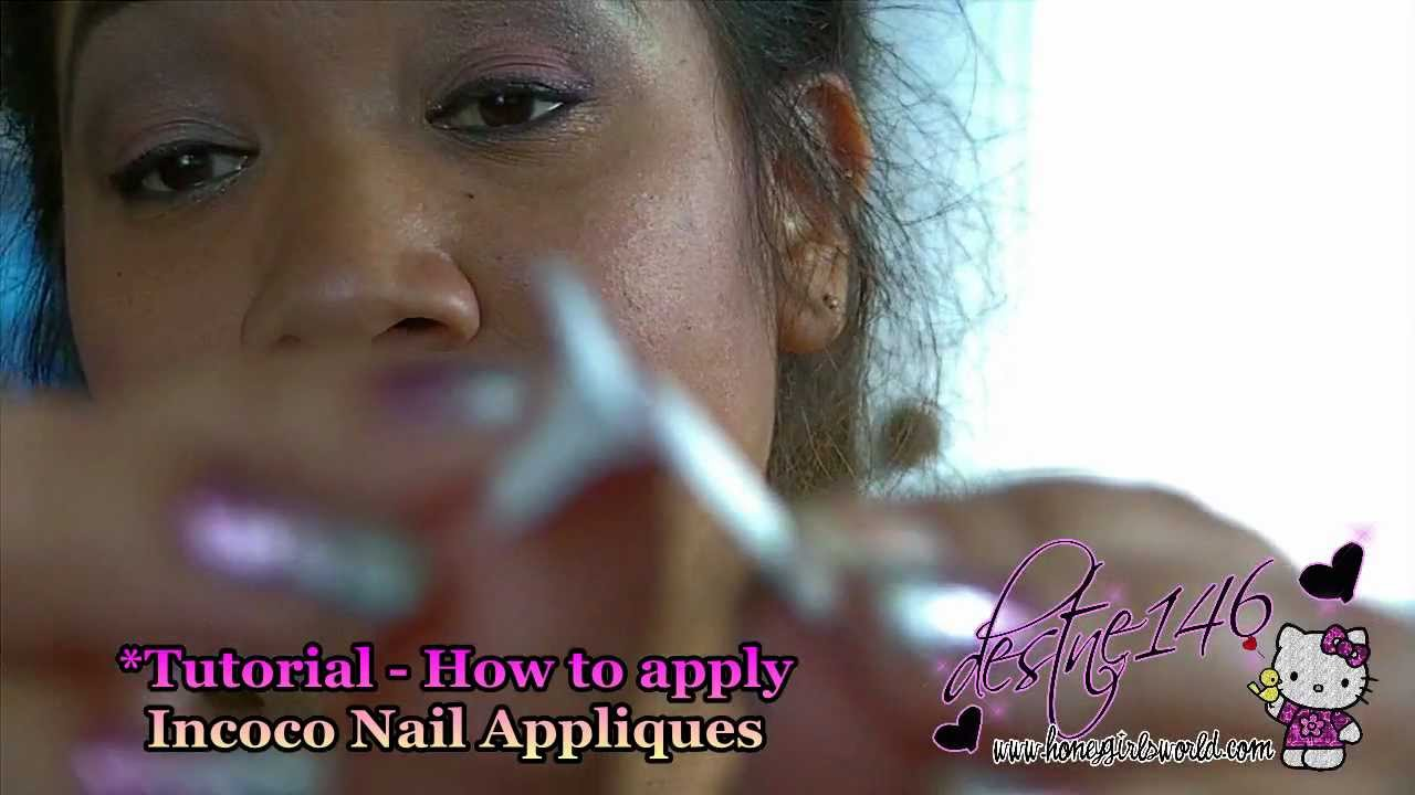 Incoco Nail Strips - Review - YouTube