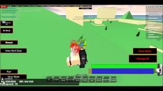 ZZ's Solo Adventures ROBLOX DBOA