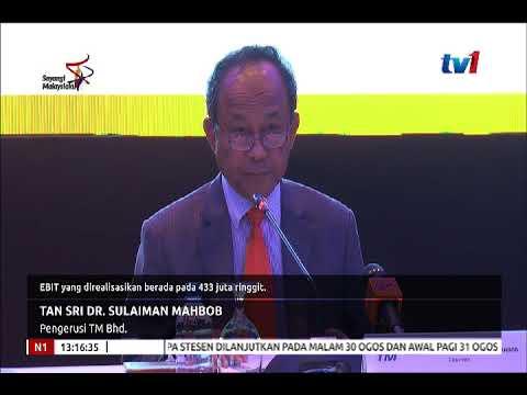 TELEKOM MALAYSIA BHD. : RAIH PENDAPATAN RM5.78 BILION PADA SEPARUH PERTAMA 2018[30 OGOS 2018]