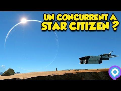 UN NOUVEAU CONCURRENT A STAR CITIZEN? (Dual Universe) #Gamescom2017